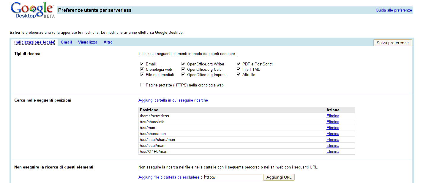 Google Desktop 1