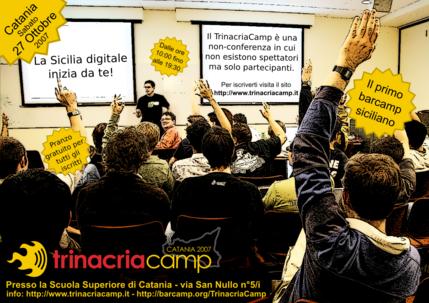 Locandina del TrinacriaCamp